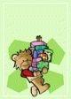 Presents Teddy Bear Gift Card #4
