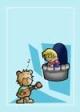 Singing Teddy Bear Gift Card #9