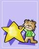 Star Teddy Bear Gift Card #10
