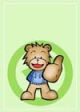 Thumbs Up Teddy Bear Gift Card #33