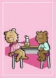 Flirty Teddy Bear Gift Card #59