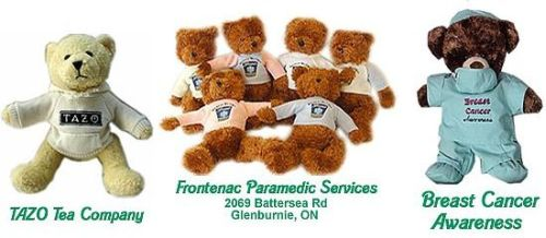personalized teddy bears and personalized gifts for non-profit organizations and corporate events